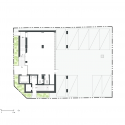 The Bricks / Doojin Hwang Architects 1st Floor Plan