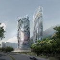 'Arte s' Residential Tower Proposal (1) Courtesy of Spark Architects