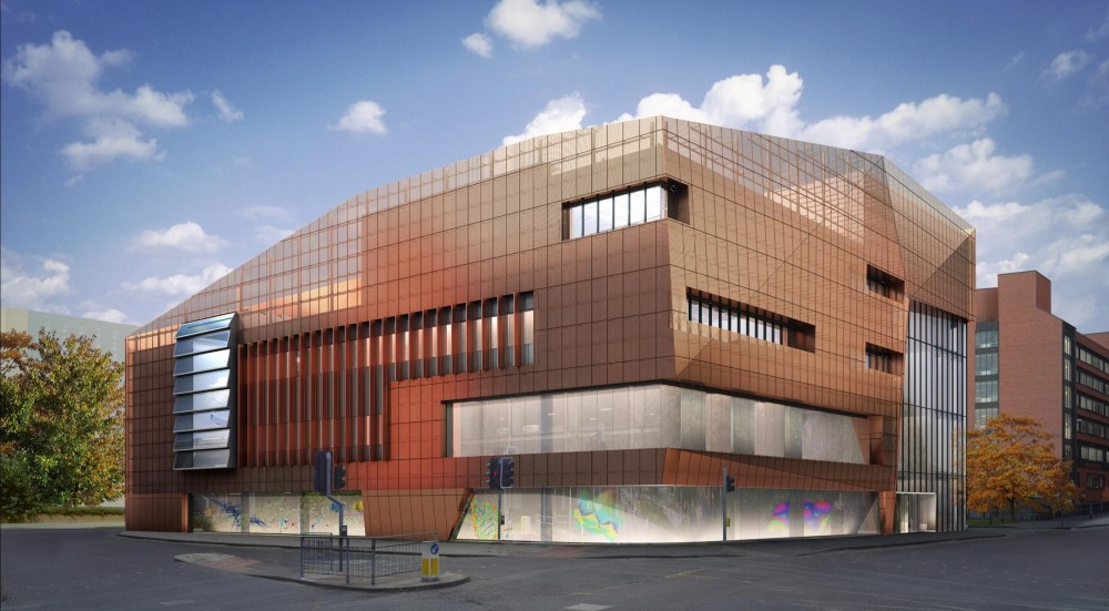National Graphene Institute Winning Proposal / Jestico + Whiles