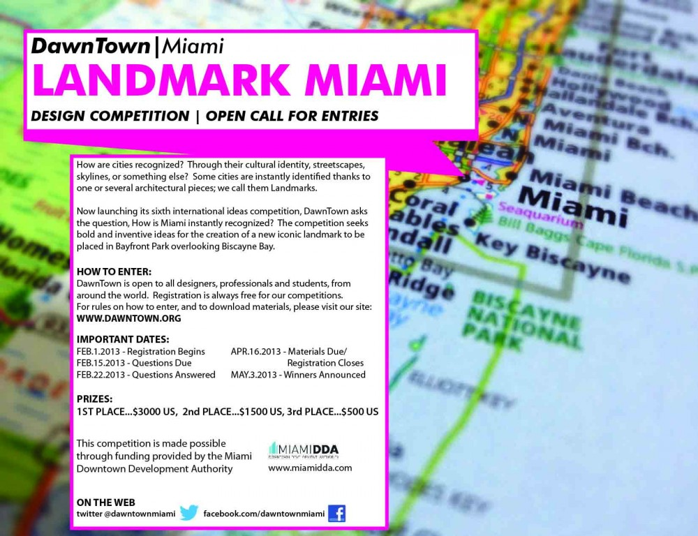 Landmark Miami DawnTown Ideas Competition