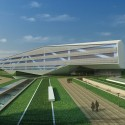 Zhengzhou Airport District Urban Planning EXhibition Centre Proposal (4) Courtesy of AUA