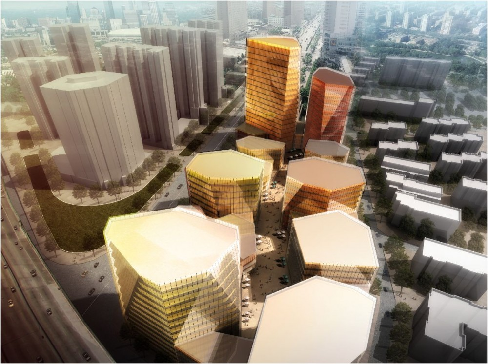 Nanjing Road Mixed Use Area Proposal / RTA-Office