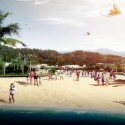 Masterplan of Xiasha Wander Bay Second Prize Winning Proposal (3) Courtesy of FCHA