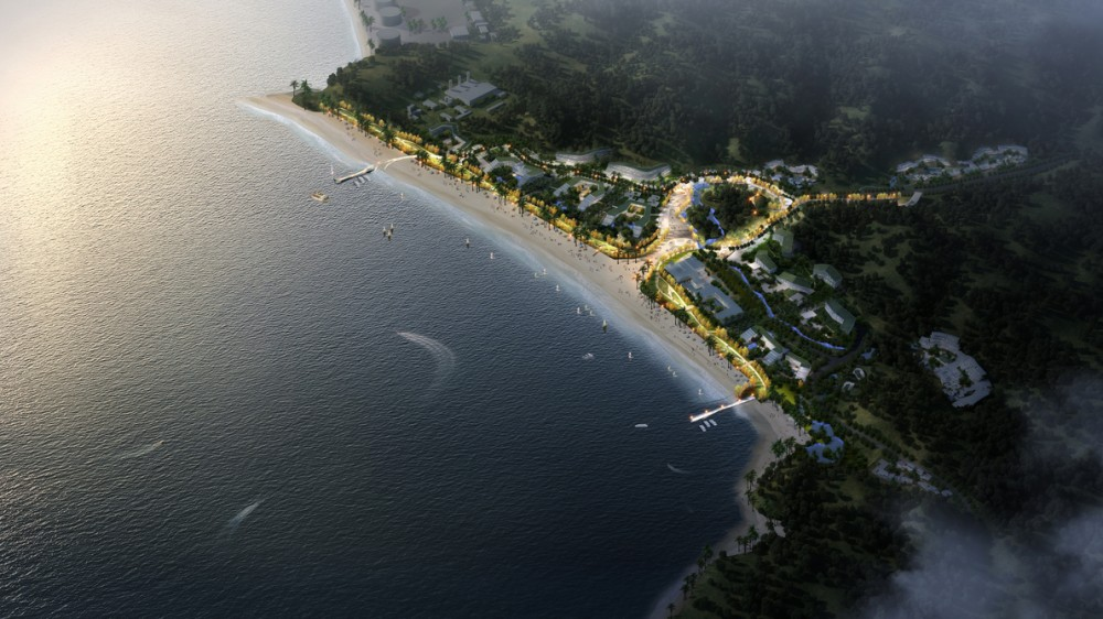 Masterplan of Xiasha Wander Bay Second Prize Winning Proposal / FCHA