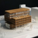 Multi-Functional Headquarters of EDEL AG Competition Entry (4) model