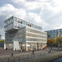 Multi-Functional Headquarters of EDEL AG Competition Entry (1) Courtesy of Barcode Architects