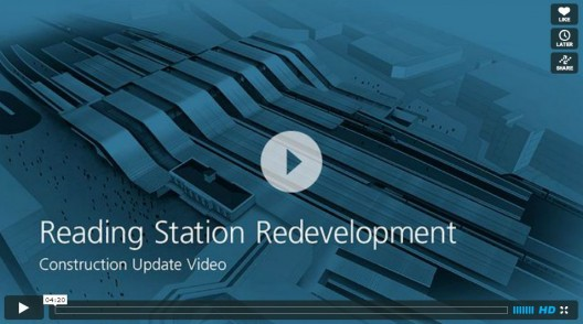 Video: Reading Station Redevelopment Update / Grimshaw Architects