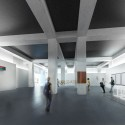 New National Contemporary Art Storage of Korea Competition Entry (3) temporary gallery spaces