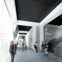 New National Contemporary Art Storage of Korea Competition Entry (4) public storage corridor
