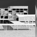New National Contemporary Art Storage of Korea Competition Entry (9) model - external and internal spaces