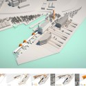 Regeneration of Part of the Piraeus Port Authority (OLP) Coastal Zone Competition Entry (25) diagram 01