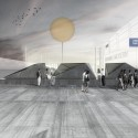 'Haze' Pavilion Proposal (3) entrance / Courtesy of Salon2