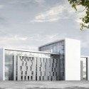 State Fire Brigade School Winning Proposal (1) Courtesy of gmp Architekten