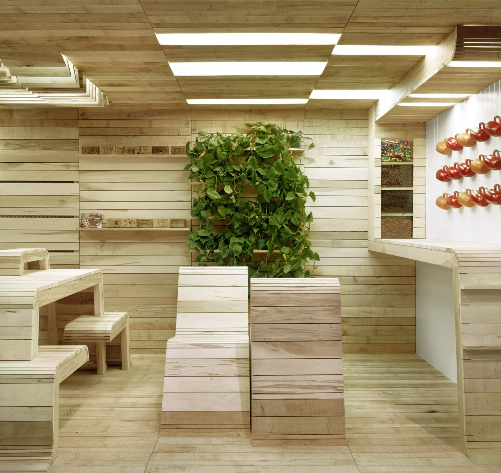 Architecture photography pop up office installation 3 for Office architecture design