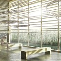 Eco-Zone Winning Proposal (3) entrance hall / Courtesy of BAT + Arquitecnica + LaSuma Paisajistas