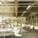 Eco-Zone Winning Proposal (5) mediatheque / Courtesy of BAT + Arquitecnica + LaSuma Paisajistas