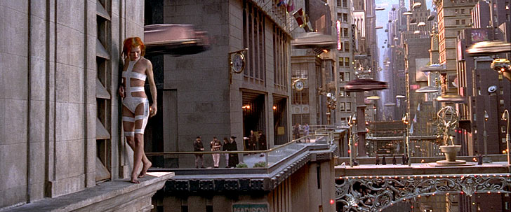 Films &#038; Architecture: &#8220;The Fifth Element&#8221;