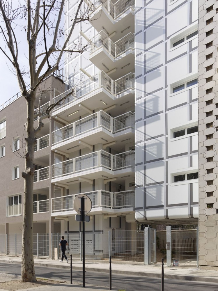 23 Local Authority Housing / Avignon-Clouet Architectes