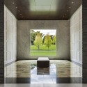 Lakewood Garden Mausoleum / HGA © Paul Crosby