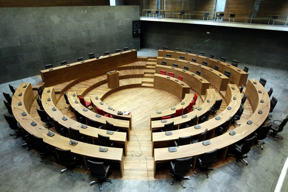 Navarra Parliament / Otxotorena Arquitectos