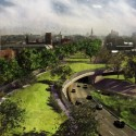 Architectural League Announces 2013 Winners of Emerging Voices Award BQE, New York City, credit: dlandstudio