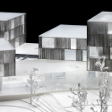 In Progress: Schwäbischer Verlag / Wiel Arets Architects Model