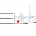 57 Viviendas Universitarias En El Campus De L'Etsav / H Arquitectes + dataAE Section