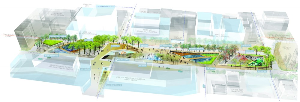 SCAPE/Landscape Architecture Wins Competition for Lexington Masterplan