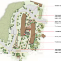 Hillside Hall / LLB Architects Site Plan