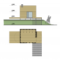 Maja's House / Ultra Architects Elevation and Plan
