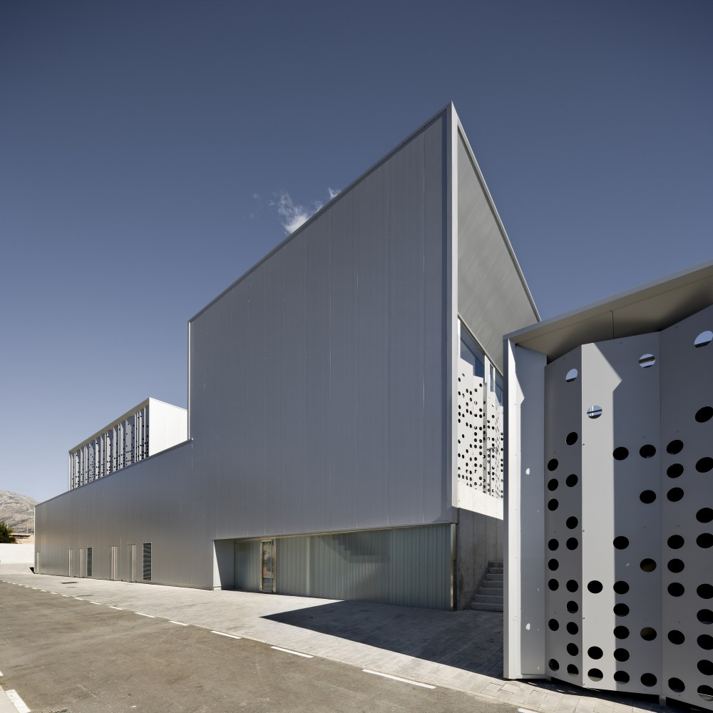 Water Treatment Station of Benidorm / Otxotorena Arquitectos