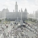 George Square Controversy George Square Competition Entry / John McAslan + Partners