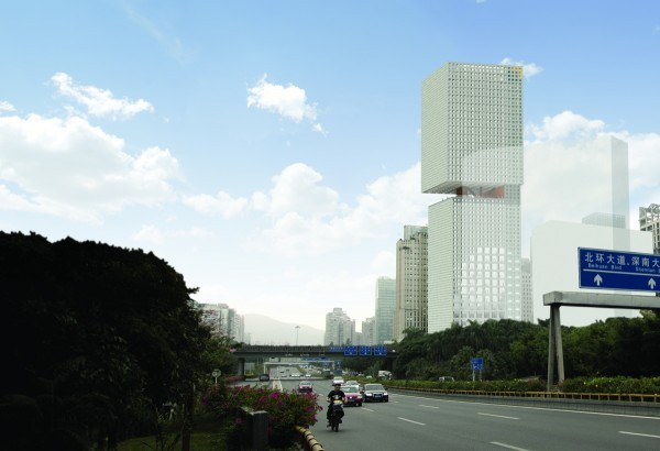 OMA Wins Skyscraper Competition in China