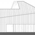 House VMVK / dmvA South Elevation