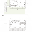 Martos House / Adamo-Faiden Upper &amp; Lower Floor Plans