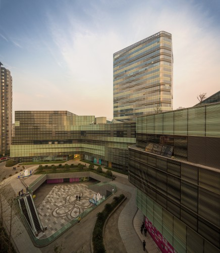 Raffles City Ningbo / SPARK  FG + SG