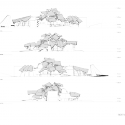 In Progress: The Biomuseo / Frank Gehry Elevations; Courtesy of Gehry Partners