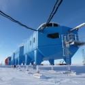 The Worlds First Relocatable Research Center Opens in Antarctica Courtesy of Hugh Broughton Architects