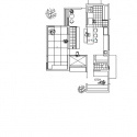 Coupled House / Naoi Architecture & Design Office Plan