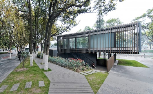 Riverside Park Pavilion / Vector Architects  Shengliang Su