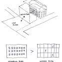 Rotermann's Old and New Flour Storage / HGA (Hayashi-Grossschmidt Arhitektuur) Diagram