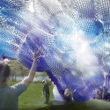 New York Firm Designs 'Cloud' of Recycled Plastic Bottles Courtesy of STUDIOKCA