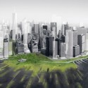NY State's Governor Cuomo's Solution for Ravaged Homes in NYC's Coastal Region Wetlands in Lower Manhattan / Architecture Research Office and DLANDSTUDIO