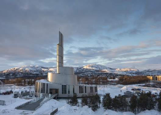 Cathedral of the Northern Lights / SHL Architects  Adam Mrk