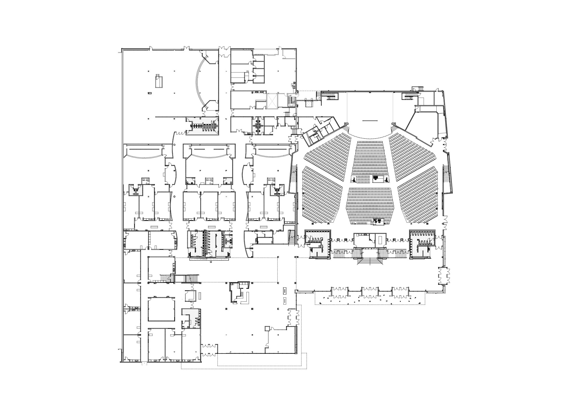 Architecture photography southland christian church eop Church floor plans online