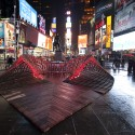 Situ Studio&#039;s &#039;Heartwalk&#039; Opens in Times Square  Ka-Man Tse, Times Square Alliance