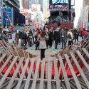 Situ Studio&#039;s &#039;Heartwalk&#039; Opens in Times Square Courtesy of Situ Studio