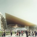 Suzhou Industrial Park Sports Center / NBBJ View of Arena © NBBJ