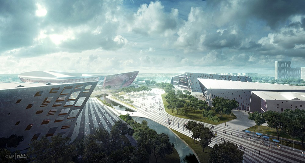 Architecture Photography: Suzhou Industrial Park Sports Center / NBBJ ...: www.archdaily.com/331921/suzhou-industrial-park-sports-center-nbbj...