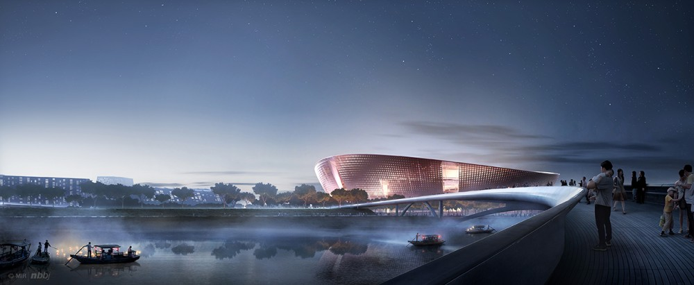 Suzhou Industrial Park Sports Center / NBBJ